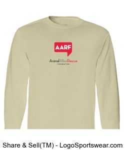 AARF Long Sleeve T-Shirt - Natural Design Zoom